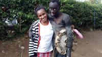 Penampakan Patrick saat baru ditemukan Wanja Mwaura. (Sumber Foto: Bored Panda)