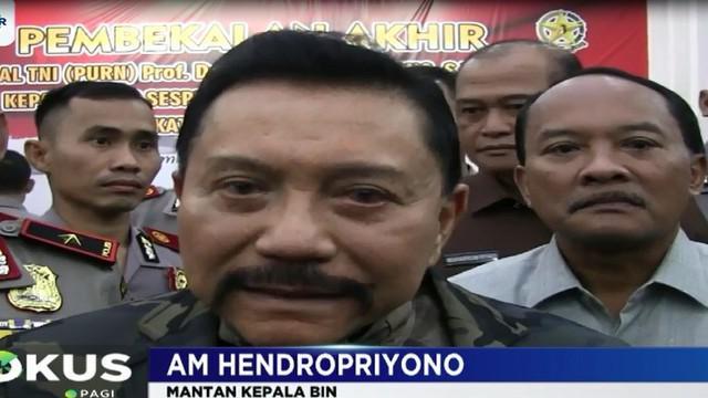 Jenderal purnawirawan bintang empat ini mengatakan PBB telah menyatakan bahwa membunuh orang tidak bersalah adalah teroris.