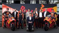 Tampilan baru sepeda motor RC16 milik KTM (Twitter KTM)