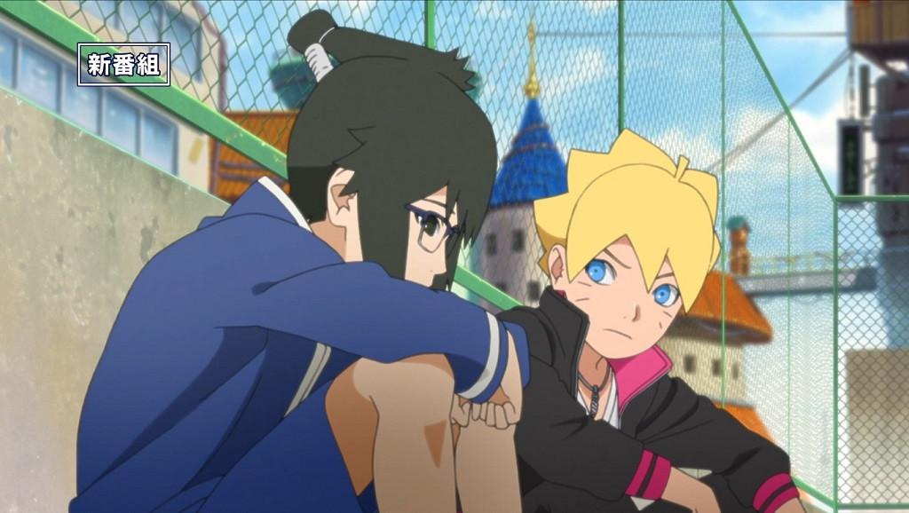 Karakter Denki dan Boruto dalam anime Boruto. (itechpost.com)