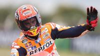 Kans Marc Marquez memenangi balapan MotoGP Austin terbuka lebar setelah pada balapan sebelumnya di sana selalu meraih gelar juara.