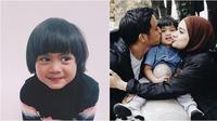 Potret keluarga Ayudia Bing Slamet, Ditto, dan Sekala. (Sumber: Instagram/ayudiac)