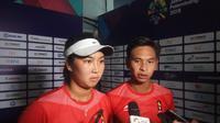 Aldila Sutjiadi dan Christoper Benjamin Rungkat (Liputan6.com / Nefri Inge)