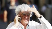Eks CEO F1, Bernie Ecclestone, membantah rumor akan membuat ajang balap baru untuk menandingi F1. (Autosport)