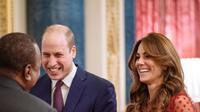 Pangeran William dan Kate Middleton saat menghadiri UK-Africa Investment Summit di Istana Buckingham, Senin, 20 Januari 2020 (Dok.Instagram/@kensingtonroya/https://www.instagram.com/p/B7jopRfF5oC/Komarudin)