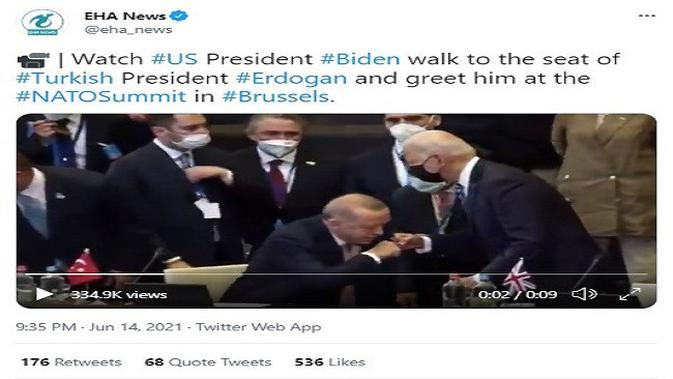 Gambar Tangkapan Layar Video dari Akun Twitter @eha_news.