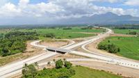 Jalan Tol Sigli Banda Aceh (Sibanceh) Seksi 4 (Indrapuri–Blang Bintang) yang menjadi bagian dari Jalan Tol Trans Sumatera (JTTS) sepanjang 2.765 km. (Dok Hutama Karya)
