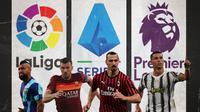 Ilustrasi - Arturo Vidal, Edin Dzeko, Zlatan Ibrahimovic, Cristiano Ronaldo (Bola.com/Adreanus Titus)
