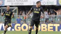 Federico Bernardeschi banyak belajar dari pengalaman Cristiano Ronaldo. (dok. Juventus)