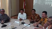 Menkes Terawan gelar rapat tertutup dengan IDI (Foto: Liputan6.com/Fitri Haryanti Harsono)