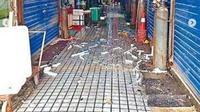 Pasar Makanan Laut Huanan, Wuhan, ditutup karena diyakini sebagai awal tersebarnya virus corona. (dok.Instagram @radar24rd/https://www.instagram.com/p/B7y4pYdF7EJ/Henry)