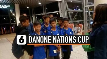 Dua tim bakal mewakili Indonesia dalam Danone Nations Cup, yang diselenggarakan di Spanyol. Selamat berjuang Garuda Muda.