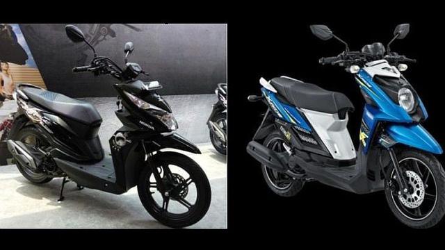 Honda Beat Street Ngekor Yamaha X Ride Otomotif Liputan6 Com