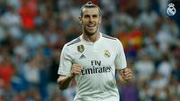 Gareth Bale mengantarkan Real Madrid meraih kemenangan 2-0 atas Getafe pada laga pekan pertama La Liga. (doc. Real Madrid)