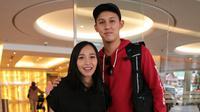 Rinni Wulandari pasca melahirkan (Adrian Putra/bintang.com)