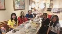 Ayu Ting Ting usai makan bakso di restoran desa di Amsterdam, Belanda (Dok.Instagram/@ayutingting92/https://www.instagram.com/p/Byxfb6JlVjb/Komarudin)