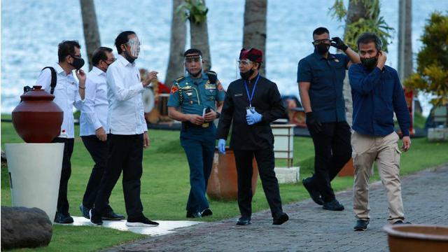 Presiden Jokowi Kunjungi Banyuwangi Pantau Tatanan Baru Sektor Pariwisata
