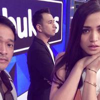 Jessica Iskandar bersama Ruben Onsu dan Raffi Ahmad (Instagram/@inijedar)
