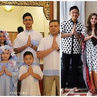 Krisdayanti dan Ashanty mengunggah foto keceriaan mereka saat Lebaran bersama keluarga (Instagram/@kridayantilemos/@ashanty_ash)