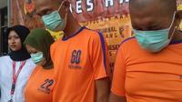 Kelompok rampok modus prostitusi online di Karawang (Abramena/Liputan6.com)