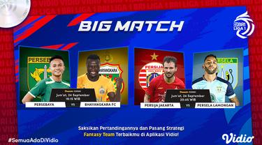 Big Match Persija Jakarta vs Persela Lamongan