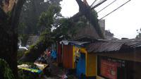 800 Bangunan di Bogor Rusak Akibat Puting Beliung (Achmad Sudarno)
