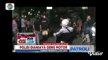 Penganiayaan dipicu saat anggota geng motor tersinggung karena korban yang bersepeda motor menyalip konvoi mereka.