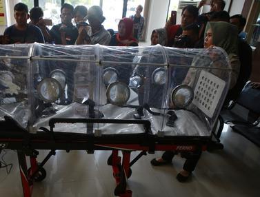 Lampung Siapkan Tandu Pelindung Virus Corona