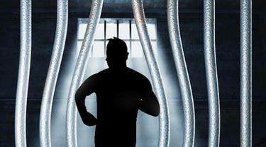 Ilustrasi tahanan kabur.