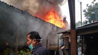 Belum diketahui penyebab kebakaran