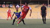 Persiraja akan manfaatkan laga uji coba kontra tim PON Aceh sebagai simulasi penerapan protokol kesehatan COVID-19 pada lanjutan Liga 1 2020 mendatang. (Bola.com/Gatot Susetyo)