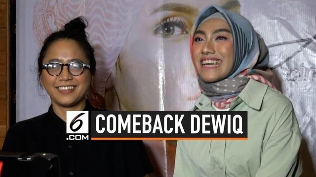 Lama tak muncul dikancah musik Tanah Air, Dewiq kembali unjuk gigi. Bukan keluar sebagai penyanyi, Dewiq lagi-lagi mempercayakan lagu ciptaan barunya dinyanyikan oleh seorang penyanyi bernama Amira Julan.