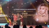 Food Bank of Indonesia Meraih Liputan6 Awards Kategori Komunitas Kemanusiaan, Sabtu (25/5/20019). (Foto: Nanda Perdana Putra/Liputan6.com)