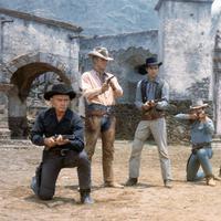 Tujuh Koboi di film klasik The Magnificent Seven yang rilis 1960. (mubi.com)