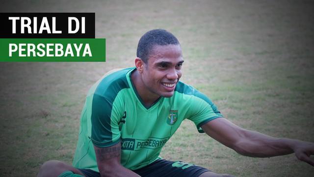 Berita video striker tim nasional Timor Leste, Pedro Henrique Oliveira, yang kini sedang jalani trial di Persebaya Surabaya.