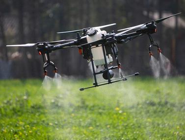 Drone Pertanian Bantu Pengendalian Epidemi Virus Corona