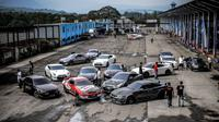 Komunitas Nissan GT-R Belajar Berkendara Aman di Sentul (Ist)