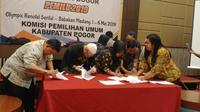 Pleno KPU Kabupaten Bogor