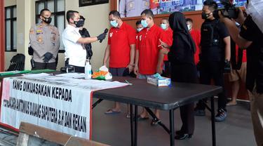 Preman dan pengacara AD yang terlibat kasus mafia tanah ditangkap Polres Jakarta Pusat