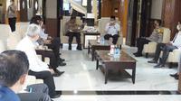 Wakapolda Jatim Brigjen Pol Slamet Hadi Supraptoyo menggelar audiensi bersama Himpera Jatim (Foto: Dok Istimewa)