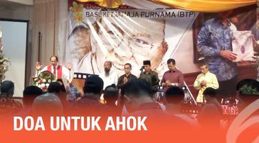 Warga lintas agama dan suku di Bali gelar doa bersama untuk bebasnya Basuki Tjahaja Purnama atau Ahok.
