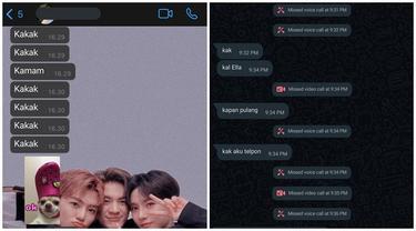 6 Chat Spam Adik ke Kakaknya Ini Bikin Geleng Kepala