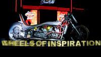 Motor kustom berbasis Kawasaki Ninja 2-Tak karya Thrive Motorcycle. (Suryanation Motorland)