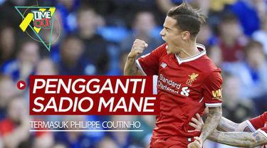 Berita video 3 pemain yang bisa menjadi pengganti Sadio Mane di Liverpool, termasuk Philippe Coutinho.