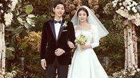 Song Joong Ki dan Song Hye Kyo (dok. Instagram @kyo1122/https://www.instagram.com/p/BbBlPqCFrVp/Putu Elmira)