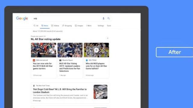 Hasil gambar untuk Tangkal Hoaks, Google Desain Ulang Tampilan News Tab