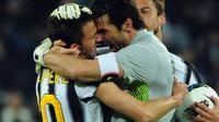 Kedua sahabat tersebut akan bertemu di laga pra musim antara Juventus kontra A-League All Stars.