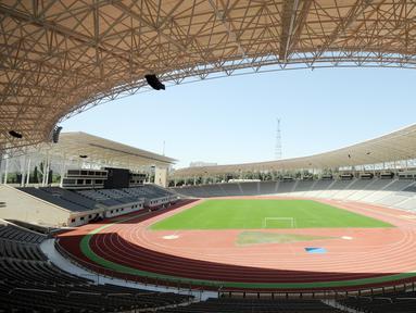 Stadion yang berpusat di Kota Baku, Azerbaijan ini merupakan markas dari Tim Nasional Azerbaijan dan Qarabag FK di Liga Champions atau Liga Europa. (AFP/Tofik Babayev)
