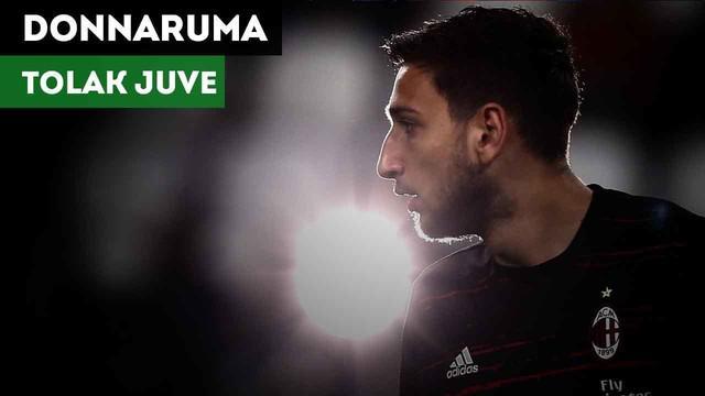 Gianluigi Donnarumma dikabarkan tak pernah ingin pindah ke Juventus.