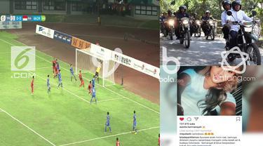 Ini dia tiga berita video viral dari liputan6.com, bola.com dan bintang.com yang ramaikan media sosial.